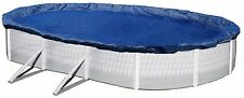 ABOVE GROUND SWIMMING POOL 24x12FT OVAL WINTER COVER