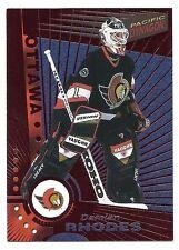 Damian Rhodes,1997-98 Pacific Dynagon Copper Card, # 86, Ottawa Senators