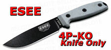 ESEE Model 4 Plain Edge Micarta Handle KNIFE ONLY 4P-KO