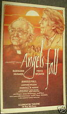 ANGELS FALL Barnard Hughes Fritz Weaver original poster