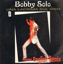 Bobby Solo – Una Lacrima Sul Viso (New English Remix) - Disco Più ADV LP 8016