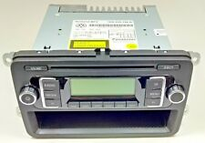 GENUINE VW GOLF JETTA PASSAT RCD 210 MP3 CD RADIO STEREO HEAD UNIT