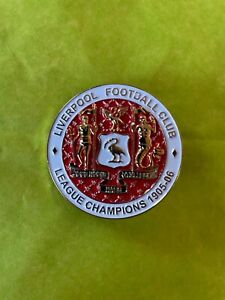 Liverpool FC Rare Porters Reds League Champions 1905-06 Pin, Not Kop Badges