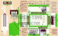 Vintage Reprint - Chevron Gas Station Punch-Out Sheet - Promotional Giveaway