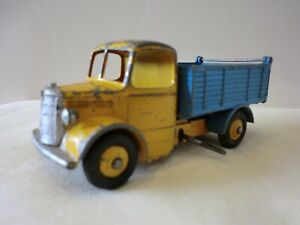 DINKY TOYS / MECCANO LTD BEDFORD IN BLUE & YELLOW ORIGINAL GOOD COND 1.43 SCALE