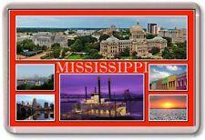 FRIDGE MAGNET - MISSISSIPPI - Large - USA America TOURIST