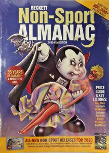 New 2020 Beckett Non Sport Almanac Price Guide 6th Edition w/ Garbage Pail Kids
