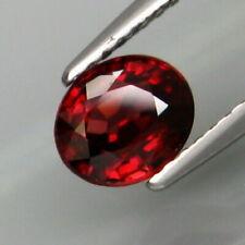 1.42 Cts Natural Rare TANZANIA Unheated Red ZIRCON Jewelry Setting Oval Cut