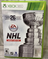 NHL Legacy Edition Xbox 360 Hockey Tested Great Condition