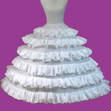 Braut Unterröcke und Reifröcke aus Satin