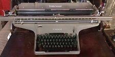 """Underwood Model #1 Typewriter VTG Original 1950s Rare Old Huge 23"""" Carriage"""
