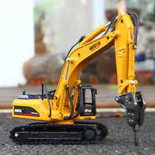 Kid Truck Mini Demolition Excavator Diecast Scale Model Toys 1:50 Digger Vehicle