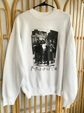 Vintage 1995 FRIENDS Embroidered Spell Out Tv Sitcom Crewneck Sweatshirt XL