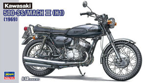 Hasegawa 21510 BK-10 1/12 Scale Model Kit Kawasaki H1 Mach III 500 SS 1969