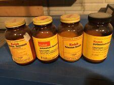 KODAK POTASSIUM BROMIDE & Dichromate CHEMICAL BOTTLE