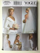 Vogue 8374 Bridal Veil and Headpiece Sewing Pattern