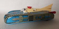 VINTAGE 1960S BATTERY OP TIN TOY SPACE CAR INTERKOZMOSZ/INTERKOSMOS - HUNGARY