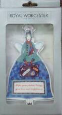 Royal Worcester Angel Leaving Home journey New Job Future porcelain Mint & Boxed