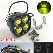 12W 4000LM LED Work Fog Light with Side Mount Bracket for Car ATV Truck Off Road