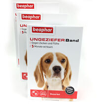 Tick / Flea Collar Dog Against Fleas+Ticks - 3 Packs - From Beaphar (Flea