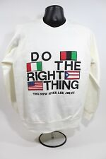 Deadstock Vtg 1990s DO THE RIGHT THING Bootleg Sweatshirt Spike Lee Joint Large
