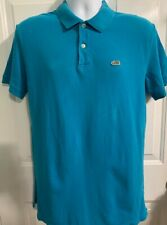 JIMMY'Z Vintage Polo Style Shirt Medium Men's Aqua Blue Surf and Skater