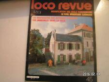 **c Loco Revue n°415 La BB 63998 Roco en HO / Les immeubles modulaires