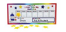Medicine reward incentive chart Toddler, Child, Preschool