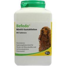 BEFEDO MinVit f.Hunde Kautabletten 180St Kautabletten PZN 1896412