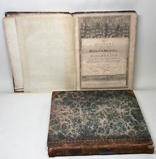18th Century Book. The History of Winchester by Rev John Milner. Engravings Map