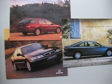 Honda Accord incl. Coupe prestige brochure Prospekt Dutch text 56pg 1996 3 items