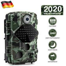 Usogood 20MP Wildkamera 1080p Jagdkamera 20M Nachtsicht Fotofalle Wasserdicht
