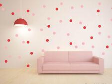 27 Colors Polka Dot Art Wall Sticker for Girl Bedroom Decor | Fun Circle Decal