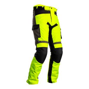 RST 102420 Atlas CE Textile Motorcycle Motorbike Jean - Fluo Yellow/Black/Grey