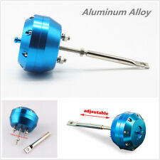 Universal Blue Aluminum Turbo Actuator Wastegate Actuator & Rod Blow Off Valve