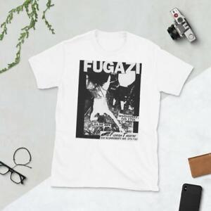 FUGAZI Punk Rock Flyer Short-Sleeve Unisex T-Shirt