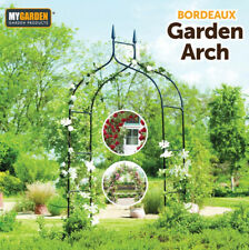 More details for metal decorative garden arch heavy duty strong rose climbing plants archway path