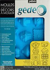 Pebeo Gedeo Silicone Mould - Delicacies (13 x 18.5cm)