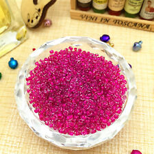 FREE SHIPPING Lots 2mm 1000pcs Czech Glass Seed Beads Mid-Rosered Colors MZY18