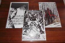 Walking Dead #7,27,100 COLOR VIRGIN SKETCH 15th Anniversary Blind Bag Variants