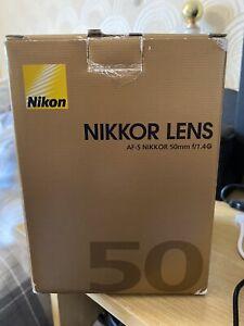 Nikon AF-S Nikkor 50mm f/1.4 G Lens