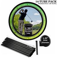 Golf Tubes Dividers 14-Pack, STANDARD, 1 1/4 Dia.  Durable Semi-Rigid Polymer