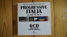 Progressive Italia Gli Anni 70 Vol.4 6 CD Box Set