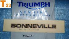 1 autocollant de coque arrière TRIUMPH BONNEVILLE réf.T2301861 neuf