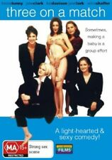 Three on a Match (DVD) Gay /Lesbian Film Sexy Comedy [Region 4] NEW/SEALED