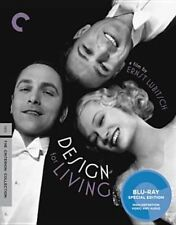 Design for Living Criterion Collection 2011 Blu Ray