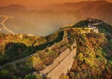 A1 Great Wall of China Sunset Poster Art Print 60 x 90cm 180gsm Cool Gift #13055