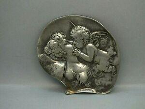 Edwardian Art Nouveau Jewel Tray 'Cupid Kissing Psyche' WMF Pattern 224 C1906