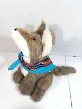 1983 Kathy's Kreations Arizona Collectibles Coyote Howling Wolf Stuffed Plush