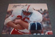 Nebraska Huskers Jeff Kinney Signed Autographed Photo 70-71 National Champs C
